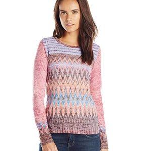 Prana Lottie Long Sleeve T Shirt Color Rhubarb